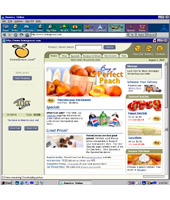 HomeGrocer Redesign Home Page